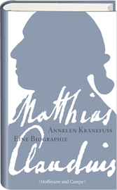 """Literatur: Annelen Kranefuss: """"Matthias Claudius"""""""