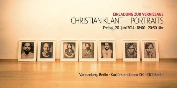 "Fotografie:"" Christian Klant – Portraits"" in Berlin"