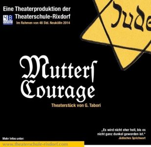 "George Tabori ""Mutters Courage"" in Berlin"