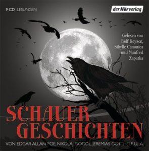"""Literatur-Hörbuch: """"Schauergeschichten"""", gelesen von Rolf Boysen"""