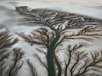 Edward Burtynsky, Colorado River Delta # 2, Near San Felipe, Baja, Mexico, 2011