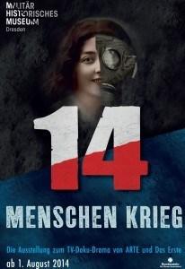 """Ausstellung: """"14 Menschen Krieg"""" in Dresden"""
