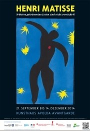 """Henri Matisse """"Meine gekrümmten Linien sind nicht verrückt"""". Ausstellung in Apolda"""