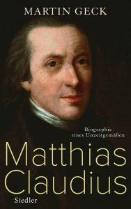 Biographie zum 200. Todesjahr von Matthias Claudius