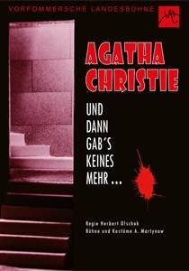"""Theater: """"Und dann gab's keines mehr..."""" von Agathe Christie am Theater Blechbüchse in Zinnowitz"""