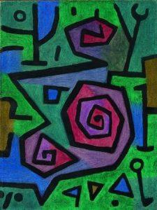 Klee-Paul_Heroische_Rosen_300