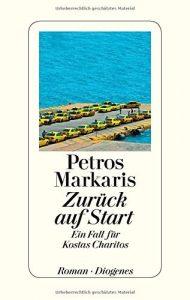 """Krimi und Lesung: Petros Markaris """"Zurück auf Start"""". Ein Fall für Kostas Charitos."""