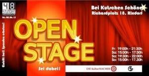 """Tipp zum Wochenende: """"1. Open Stage"""" bei """"48 Stunden Neukölln"""""""