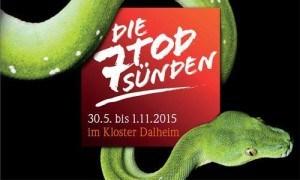 """Ausstellung: """"Die 7 Todsünden"""" im Kloster Dalheim, Lichtenau, Ostwestfalen-Lippe"""