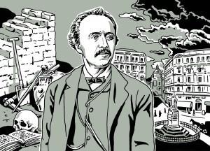 """""""Tod in Neapel"""". Eine feine Sonderausstellung zum Tode Heinrich Schliemanns vor 125 Jahren"""