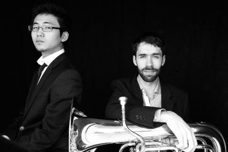 """""""Musik ohne Grenzen"""" – eine Reise zu Robert Schumann und seinen Zeitgenossen mit dem Duo """"Innere Stimme"""", Kenji Miuara am Klavier und Rémi Gaché am Euphonium"""