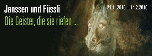 """""""Janssen und Füssli. Die Geister, die sie riefen..."""". Ausstellung im Horst-Janssen-Museum in Oldenburg"""