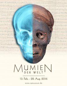 """""""Mumien der Welt"""". Eine Ausstellung im Roemer-Pelizaeus-Museum Hildesheim."""