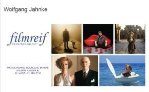 """""""filmreif – Filmstars im Licht"""". Fotografien von Wolfgang Jahnke. Ausstellung in Berlin"""