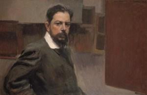 Joaquín Sorolla, Selbstbildnis, 1904, Öl auf Leinwand, 66 x 100,5 cm, Madrid, Museo Sorolla, Inv.-Nr. 687