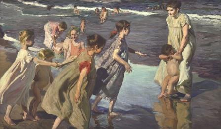 Joaquín Sorolla, Sommer, 1904, Öl auf Leinwand, 149 x 252 cm, Havanna, Museum Nacional de Bellas Artes