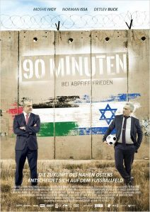 """2x2 Kinofreikarten für """"90 Minuten – bei Abpfiff Frieden"""" zu gewinnen."""