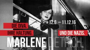 """""""Marlene Dietrich. Die Diva. Ihre Haltung. Und die Nazis"""". Ausstellung in Oberhausen"""