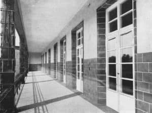 Chirurgie_Liegeterasse Beelitz Heilstätten einst