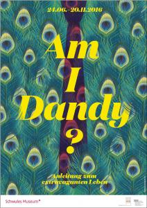 """""""Am I Dandy – Anleitung zum extravaganten Leben"""". Ausstellung in Berlin"""