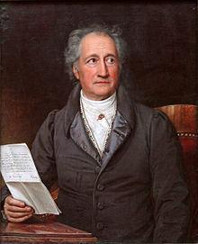 Eine Minute und 43 Sekunden mit ... Johann Wolfgang von Goethe, der heute 267 Jahre alt geworden wäre