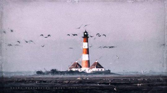 Leuchtturm von Westerhever / © Heiko Westphalen