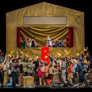 """""""Boris Godunow"""" von Modest Mussorgski in einer Neuinszenierung an der Oper Nürnberg"""