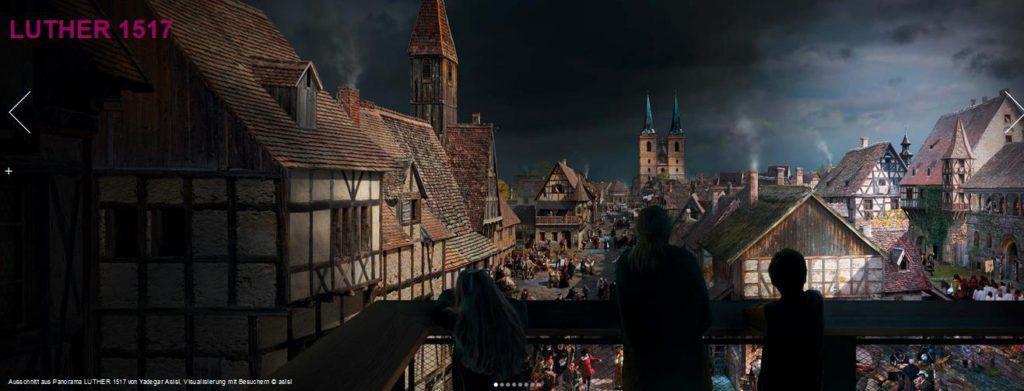 """!Tipp: """"Luther 1517"""" – Yadegar Asisis neuestes Panorama zum Lutherjahr in Wittenberg"""