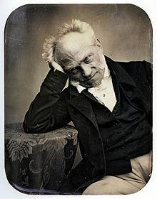 Schopenhauer/Daguerreotypie von 1859