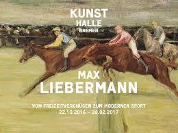 """""""Max Liebermann - Vom Freizeitvergnügen zum modernen Sport"""". Ausstellung in Bremen"""