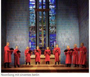 """Weihnachts-NoonSong"" in Berlin"
