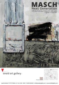 MASCH: Ausdruckstarke Kunst in der Anaid Art Gallery, Berlin