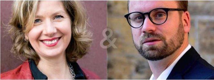 """Salonlesung """"Lebenswert"""" mit Jeannette Hagen und André Biakowski"""