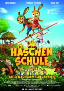 """Neu im Kino: """"Die Häschenschule – Jagd nach dem Goldenen Ei. Der Kinderbuchklassiker im Hier und Jetzt"""