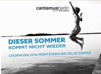 Dieser Sommer kommt nicht wieder_Cantamus