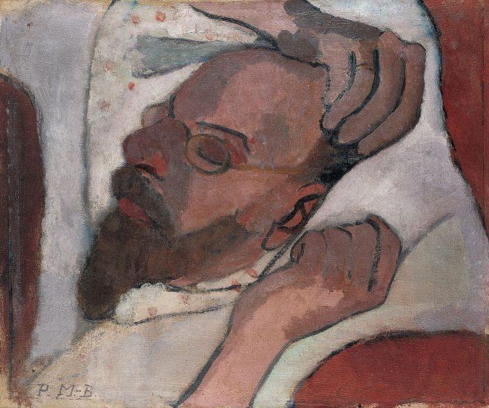 Paula Modersohn-Becker, Otto Modersohn schlafend, 1907, Paula-Modersohn-Becker-Stiftung, Bremen