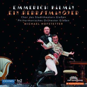 "CD Cover Emmerich Kálmán ""Herbstmanöver"" im Kultur-Magazin Feuileltonscout"