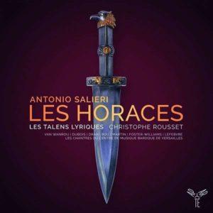 Antonio Salieri, Les Horaces, Christophe Rousset, Harmonia Mundi