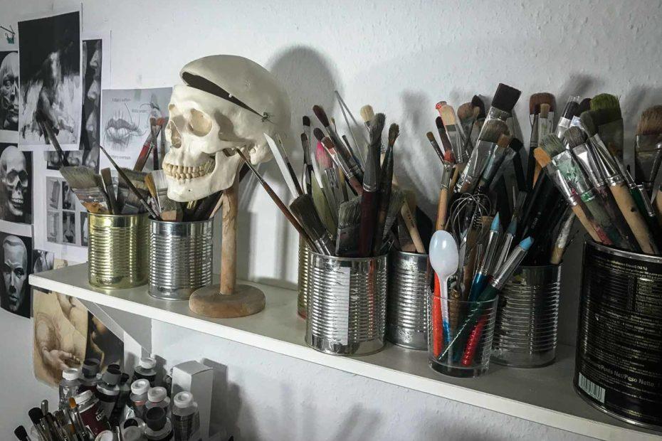 Romy Campe Atelier Pinsel
