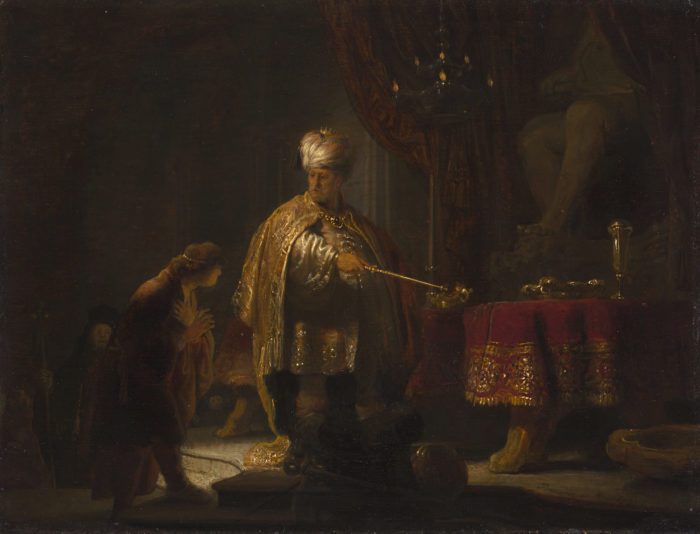 Rembrandt: Daniel und Kyros
